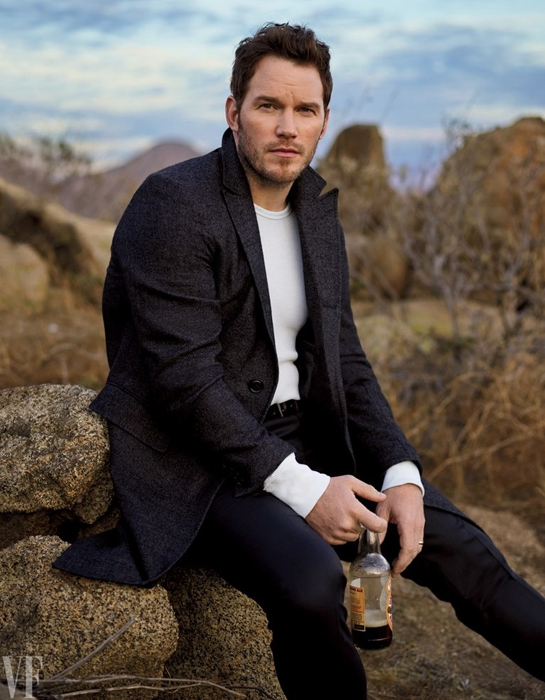 VANITY FAIR MAGAZINE Chris Pratt by Mark Seliger. February 2017, www.imageamplified.com, Image amplified4