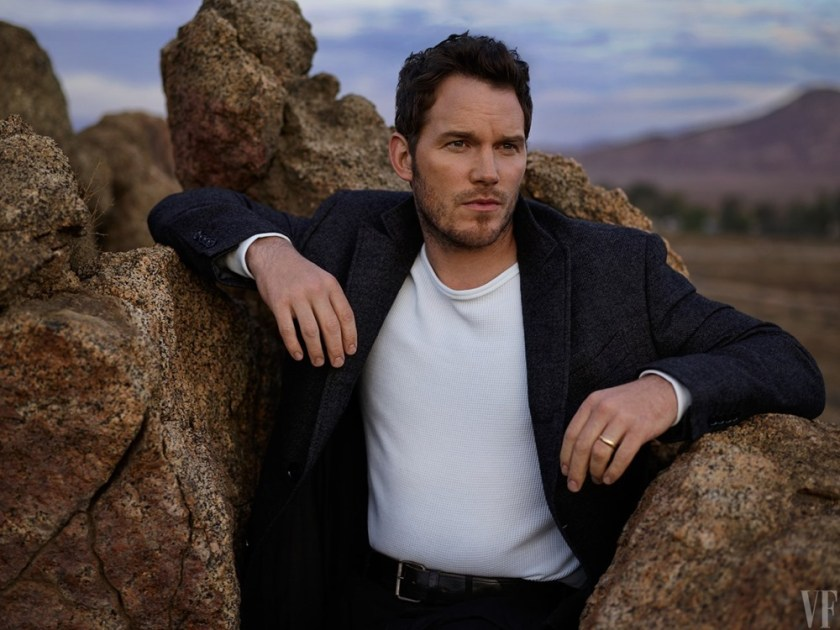 VANITY FAIR MAGAZINE Chris Pratt by Mark Seliger. February 2017, www.imageamplified.com, Image amplified5