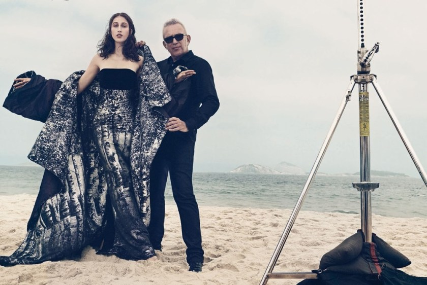 VOGUE BRAZIL Anna Cleveland & Jean Paul Gaultier by Gil Inoue. Patricia Tremblais, January 2017, www.imageamplified.com, Image Amplified1