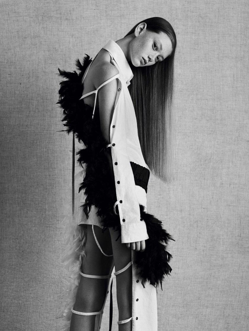 VOGUE CHINA Sara Grace by Ben Toms. Robbie Spencer, February 2017, www.imageamplified.com, Image Amplified3