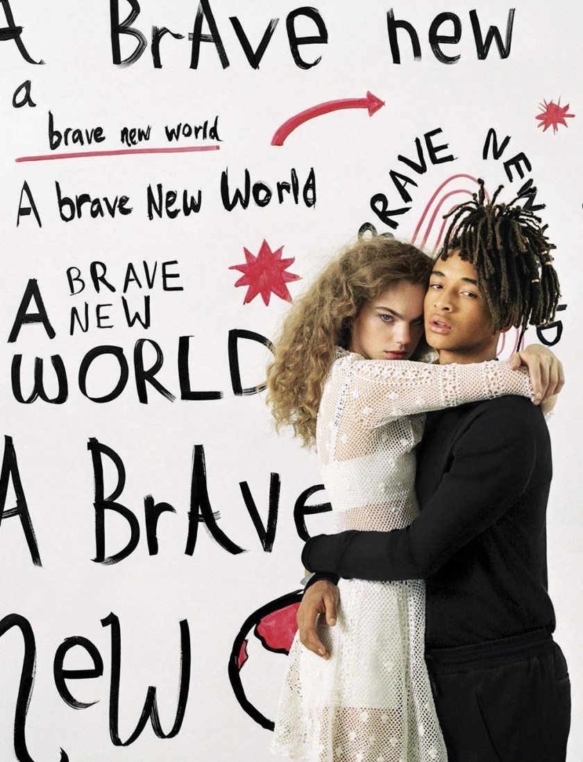 VOGUE ITALIA Estella Boersma & Jaden Smith by Bruce Weber. Paul Cavaco, January 2017, www.imageamplified.com, image Amplified (1)