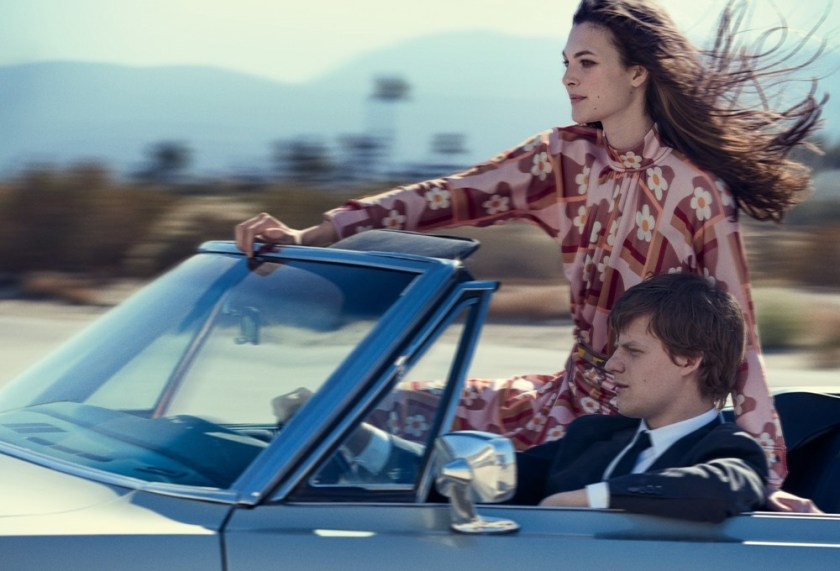VOGUE MAGAZINE Vittoria Ceretti & Lucas Hedges by Peter Lindbergh. Grace Coddington, Michael Philouze, February 2017, www.imageamplified.com, Image amplified3