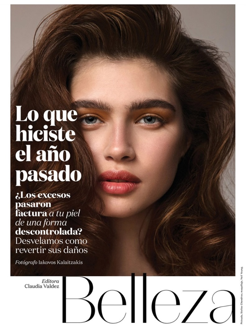 VOGUE MEXICO Nastya Z. by Iakovos Kalaitzakis. January 2017, www.imageamplified.com, Image Amplified1