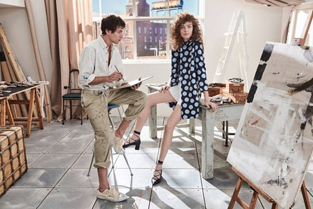 CAMPAIGN Mina Cvetkovic & Adrian Cardoso for iBlues Spring 2017 by Giampaolo Sgura. Vittoria Cerciello, www.imageamplified.com, Image Amplified4