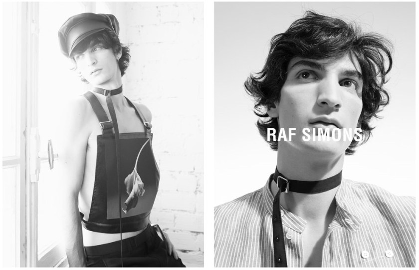 CAMPAIGN Raf Simons Spring 2017 by Willy Vanderperre. Olivier Rizzo, www.imageamplified.com, Image Amplified3