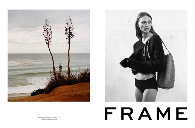CAMPAIGN Sasha Pivovarova for Frame Spring 2017 by Erik Torstensson, www.imageamplified.com, Image Amplified3