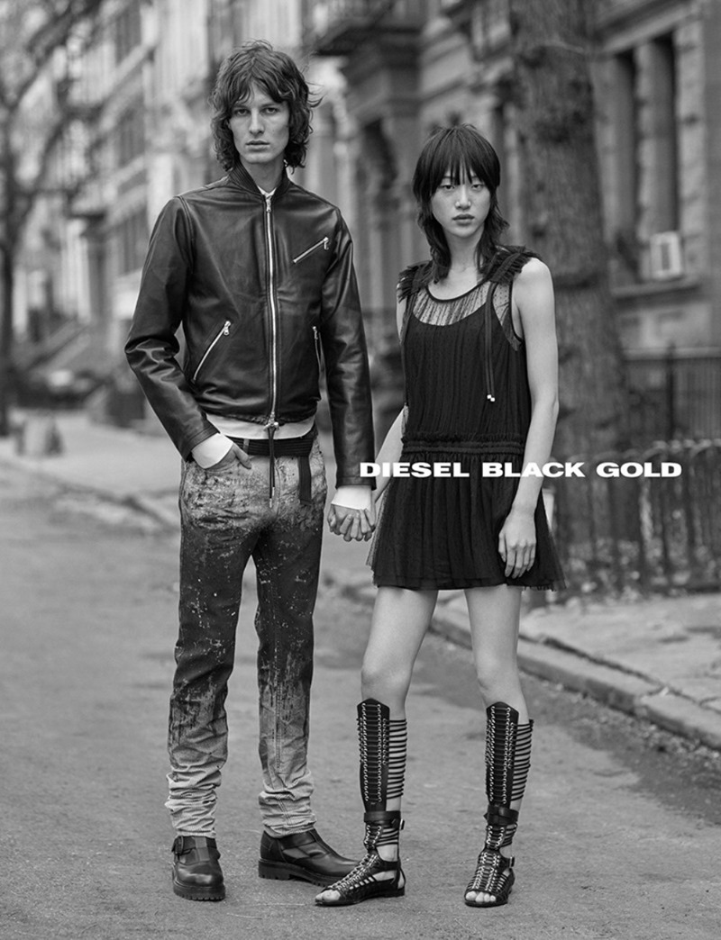 CAMPAIGN Sora Choi & Akos Sogor for Diesel Black Gold Spring 2017. www.imageamplified.com, Image Amplified5