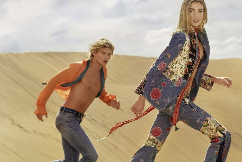 CAMPAIGN Stella Maxwell & Jordan Barrett for Roberto Cavalli Spring 2017 by Morelli Brothers. www.imageamplified.com, Image Amplified4