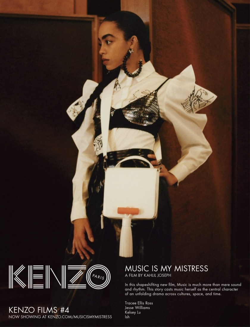 CAMPAIGN Tracee Ellis Ross, Jesse Williams & Kelsey Lu for Kenzo Spring 2017 by Durimel. Julia Sara Jamois, www.imageamplified.com, Image Amplified10