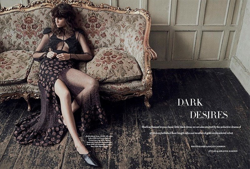 HARPER'S BAZAAR UK Antonina Petkovic by REgan Cameron. Miranda Almond, March 2017, www.imageamplified.com, Image Amplified1