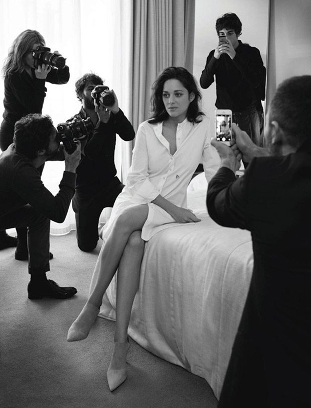 MADAME FIGARO Marion Cotillard & Guillaume Canet by Jean-Baptiste Mondino. Valentin Mordacq, Spring 2017, www.imageamplified.com, Image Amplified3