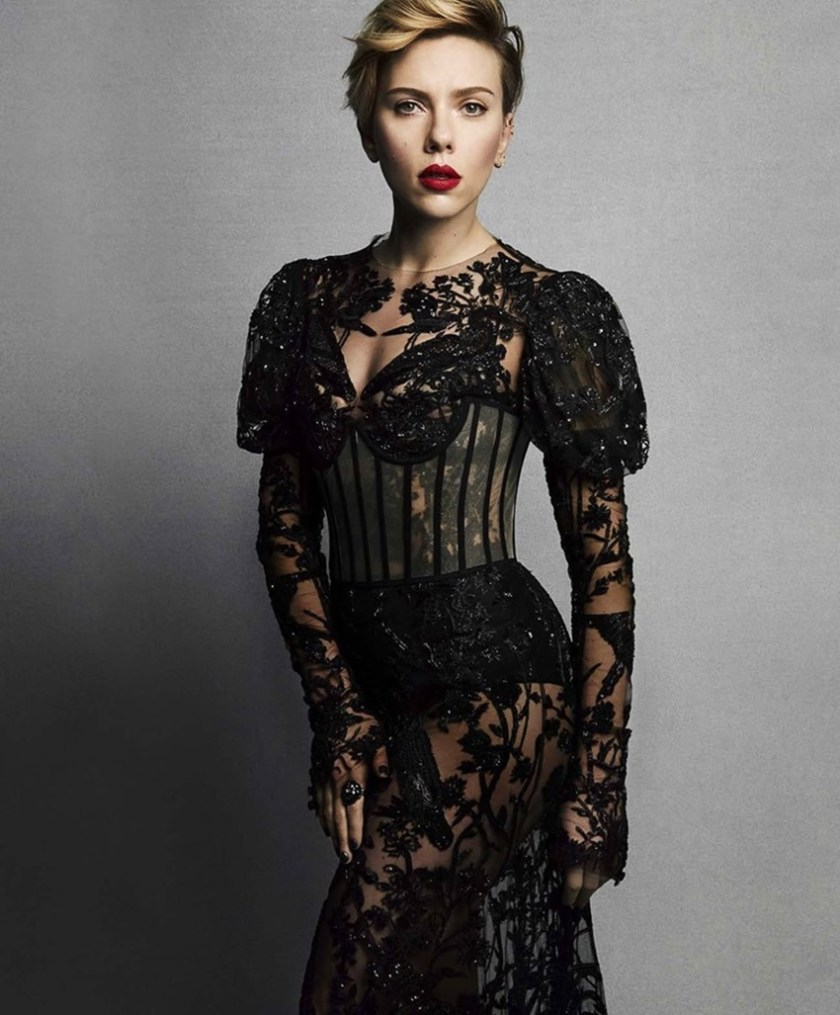 MARIE CLAIRE MAGAZINE Scarlett Johansson by Tesh. Leslie Fremar, March 2017, www.imageamplified.com, Image Amplified1