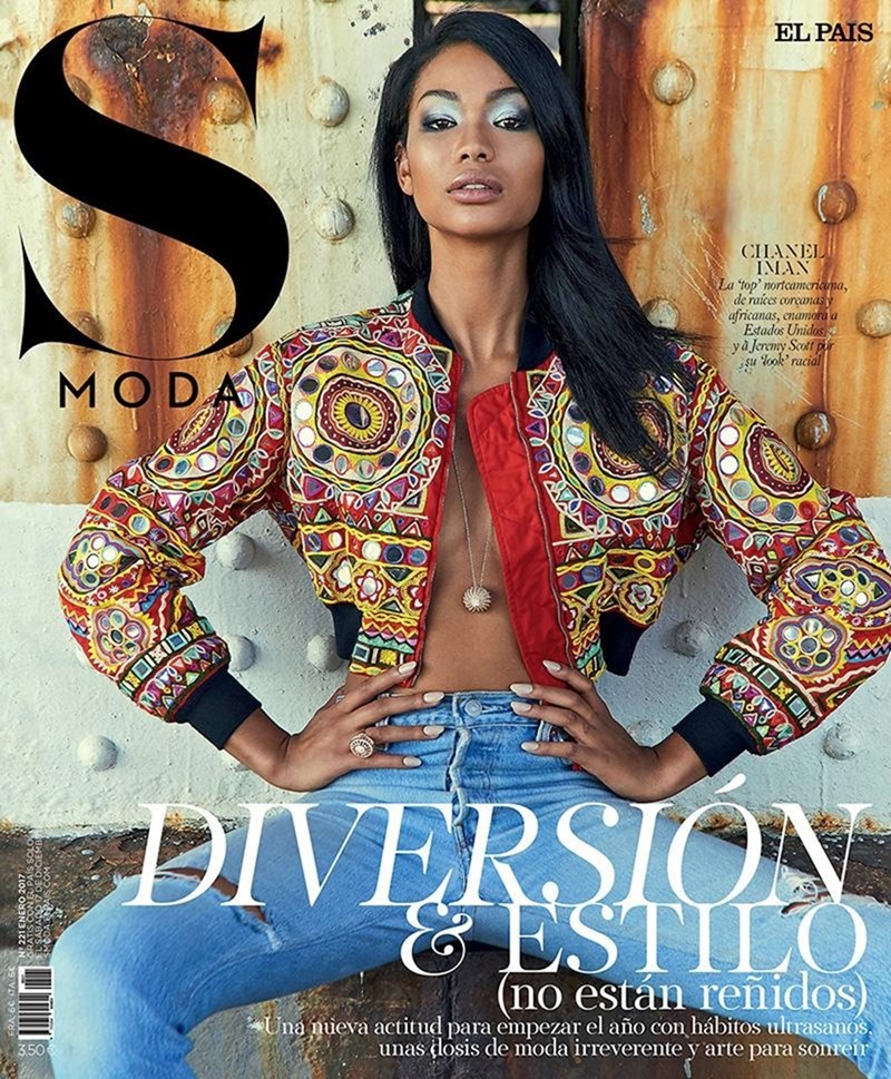 S MODA Chanel Iman & Jeremy Scott by Henrique Gender. Almudena Guerra, February 2017, www.imageamplified.com, Image Amplified1