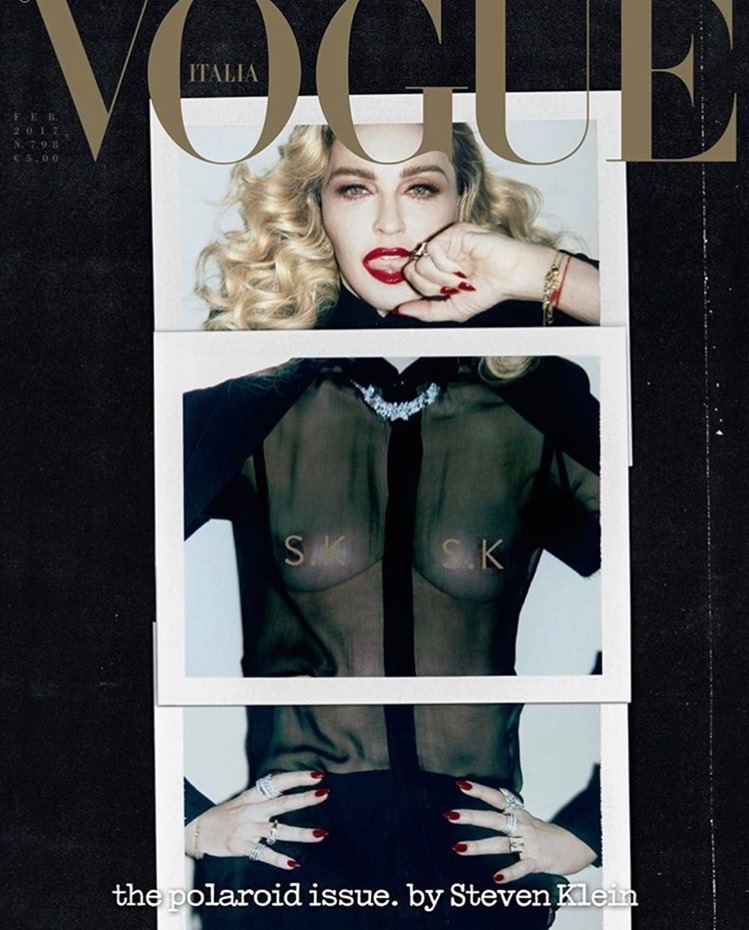 VOGUE ITALIA Madonna by Steven Klein. Arianne Phillips, February 2017, www.imageamplified.com, Image Amplified3