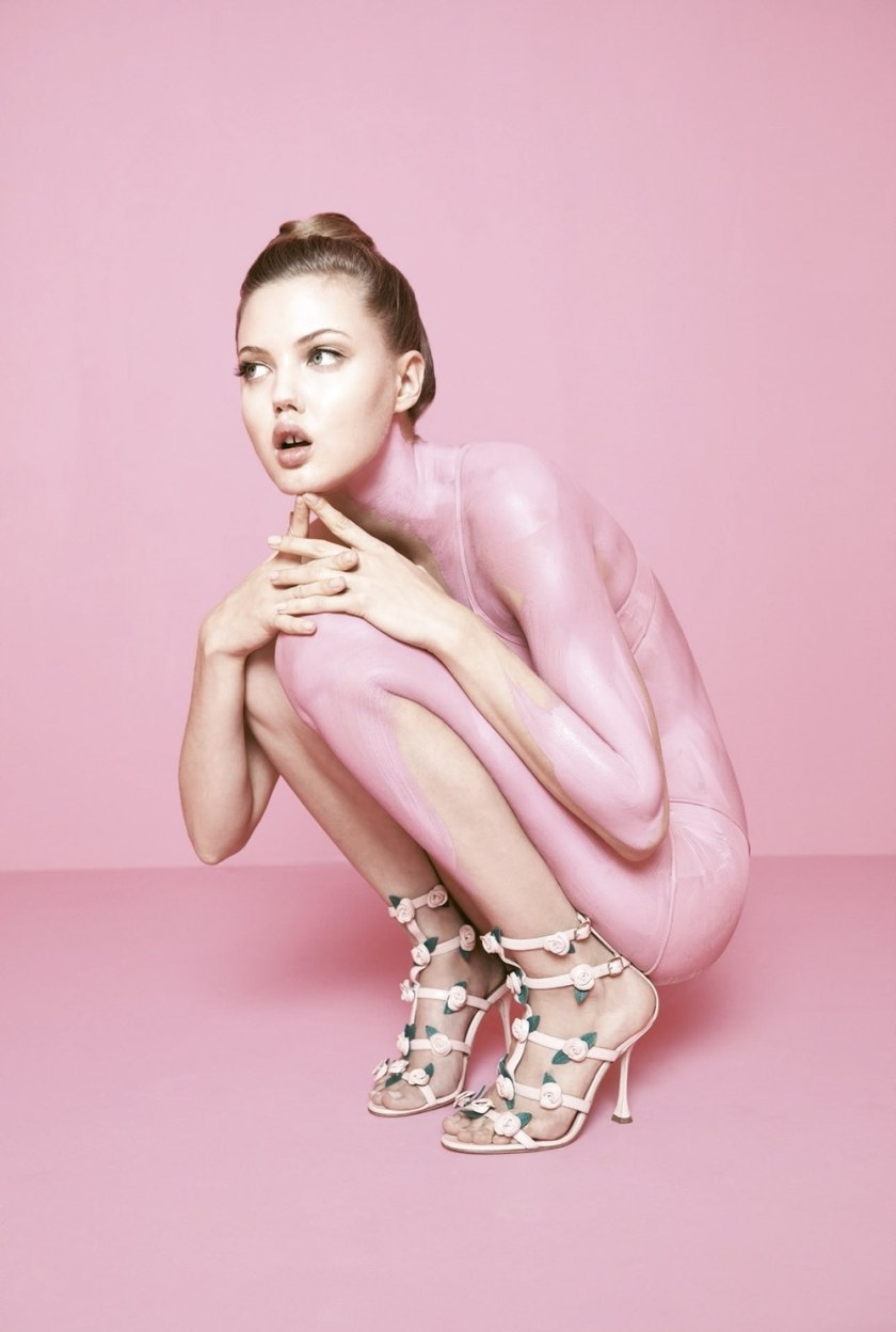 BERGDORF GOODMAN Lindsey Wixson by Karen Collins. Anne Christensen, Spring 2017, www.imageamplified.com, Image Amplified10