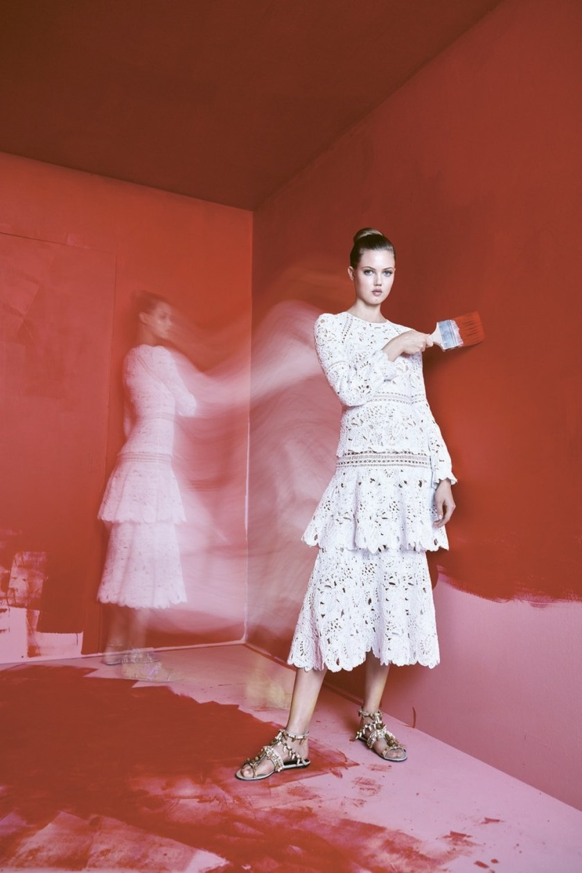 BERGDORF GOODMAN Lindsey Wixson by Karen Collins. Anne Christensen, Spring 2017, www.imageamplified.com, Image Amplified5