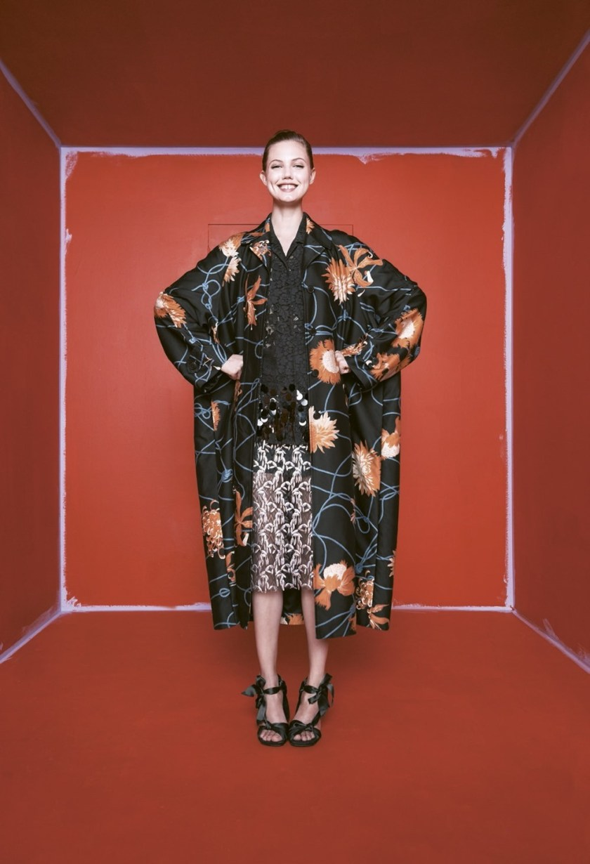 BERGDORF GOODMAN Lindsey Wixson by Karen Collins. Anne Christensen, Spring 2017, www.imageamplified.com, Image Amplified6
