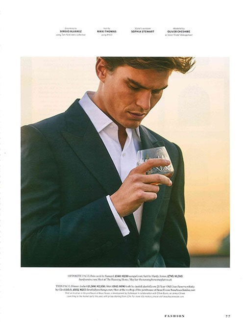 GENTLEMANS JOURNAL Oliver Cheshire by Adam Russell. Holly Macnaghten, Spring 2017, www.imageamplified.com, Image Amplified1