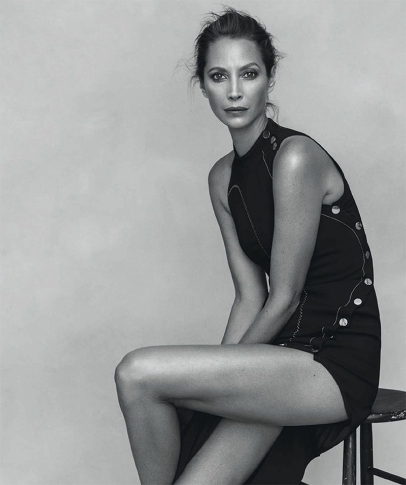 HARPER'S BAZAAR SPAIN Christy Turlington by Norman Jean Roy. Kristen Ingersoll, March 2017, www.imageamplified.com, Image Amplified8