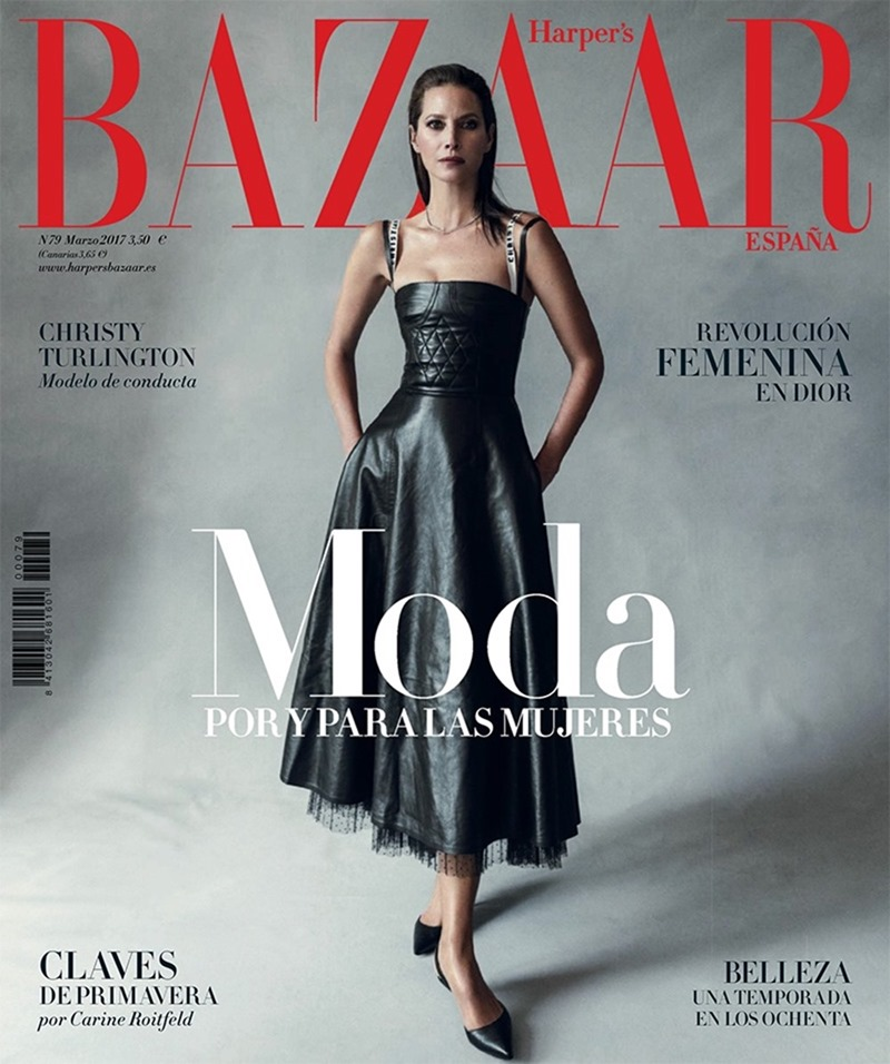 HARPER'S BAZAAR SPAIN Christy Turlington by Norman Jean Roy. Kristen Ingersoll, March 2017, www.imageamplified.com, Image Amplified10