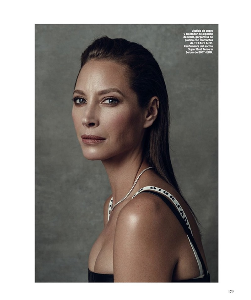 HARPER'S BAZAAR SPAIN Christy Turlington by Norman Jean Roy. Kristen Ingersoll, March 2017, www.imageamplified.com, Image Amplified1