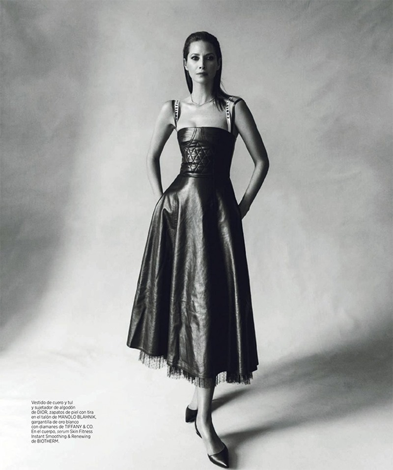 HARPER'S BAZAAR SPAIN Christy Turlington by Norman Jean Roy. Kristen Ingersoll, March 2017, www.imageamplified.com, Image Amplified3
