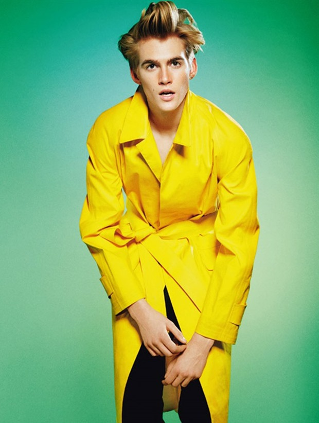 L'UOMO VOGUE Presley Gerber by Jack Pierson. Michael Philouze, March 2017, www.imageamplified.com, Image Amplified2