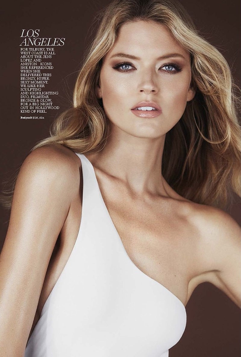 MARIE CLAIRE MAGAZINE Martha Hunt by Enrique Badulescu. Enrique Campos, March 2017, www.imageamplified.com, image Amplified4