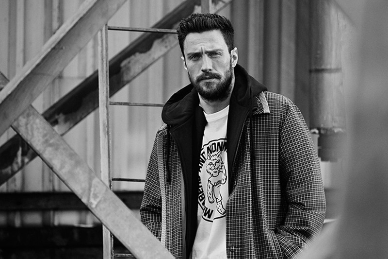 MR PORTER'S THE JOURNAL Aaron Taylor-Johnson by Ben Weller. Way Perry, Spring 2017, www.imageamplified.com, Image Amplified7