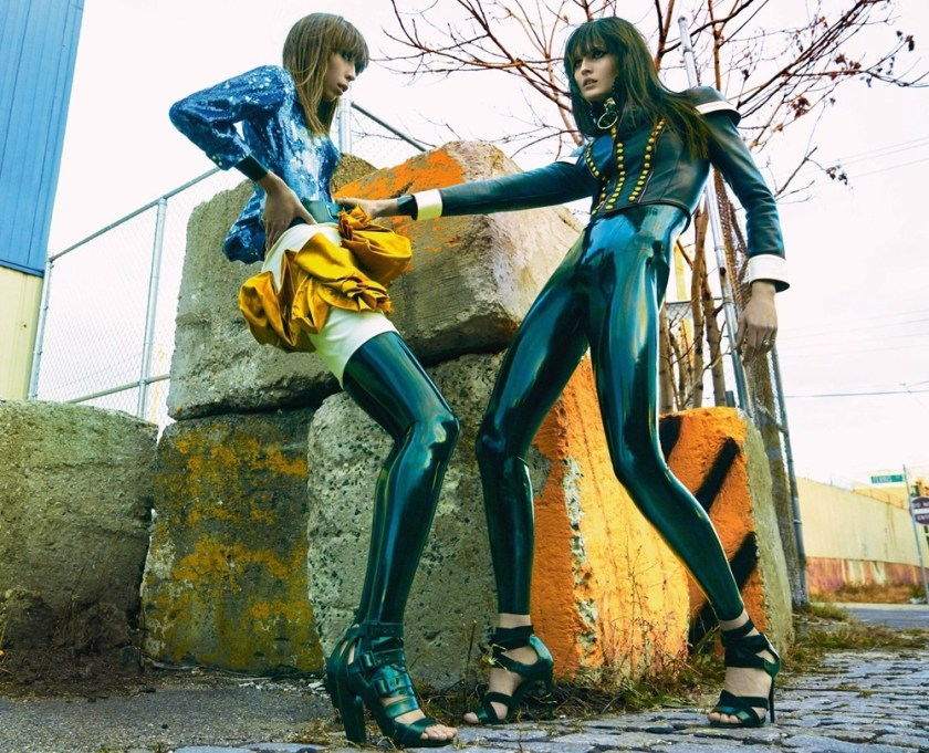NUMERO MAGAZINE Issa Lish & Katlin Was by Greg Kadel. Charles Varenne, March 2017, www.imageamplified.com, Image Amplified7