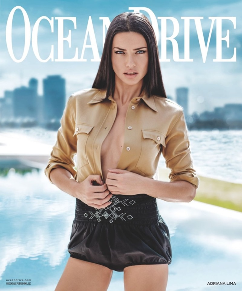 OCEAN DRIVE MAGAZINE Adriana Lima by Russell James. Katherine Lande, March 2017, www.imageamplified.com, Image Amplified8
