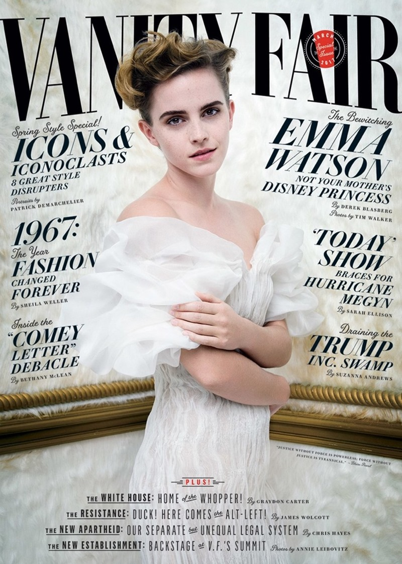 VANITY FAIR MAGAZINE Emma Watson by Tim Walker. Jessica Niehl, March 2017, www.imageamplified.com, Image Amplified10