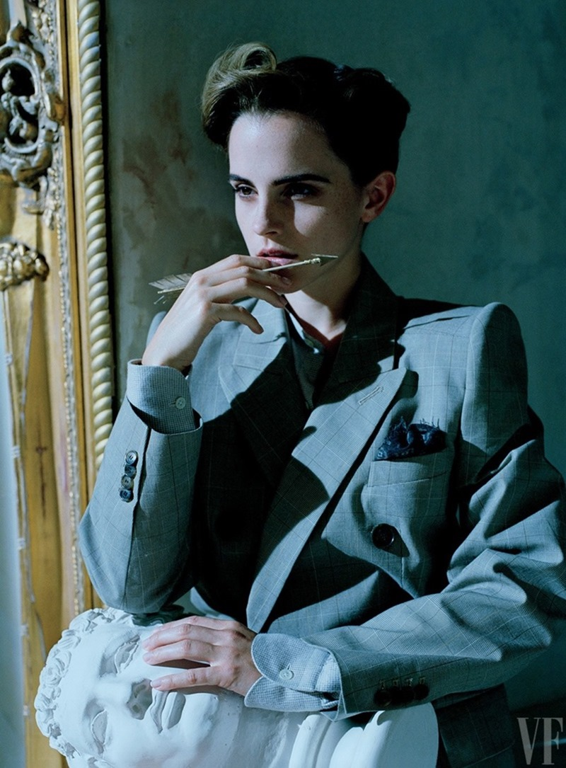 VANITY FAIR MAGAZINE Emma Watson by Tim Walker. Jessica Niehl, March 2017, www.imageamplified.com, Image Amplified9