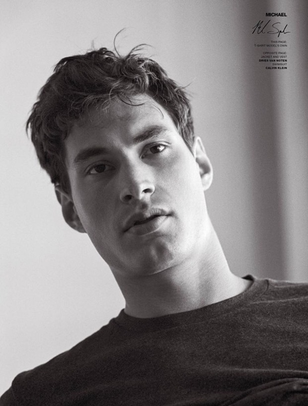 VMAN MAGAZINE Absolute Beginners by Bruce Weber. Paul Cavaco, Spring 2017, www.imageamplified.com, Image Amplified7