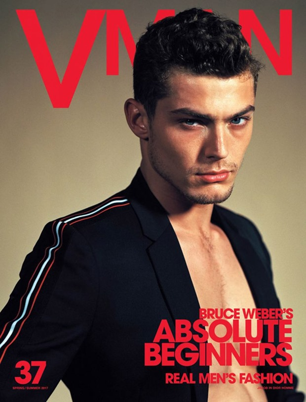 VMAN MAGAZINE Absolute Beginners by Bruce Weber. Paul Cavaco, Spring 2017, www.imageamplified.com, Image Amplified13