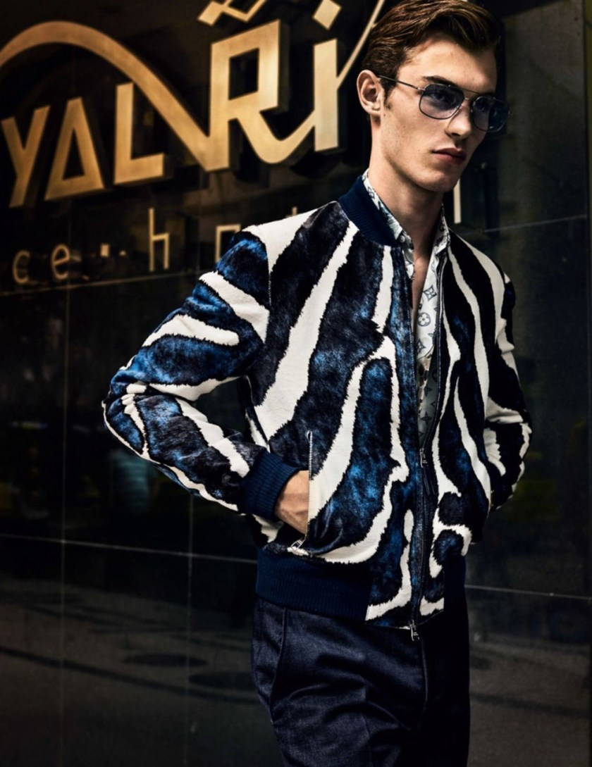 VOGUE HOMMES City of the Gods by Mario Testino. Anastasia Barber, Spring 2017, www.imageamplified.com, Image Amplified20