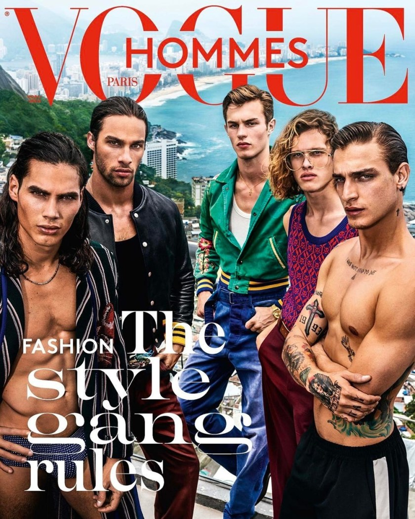 VOGUE HOMMES City of the Gods by Mario Testino. Anastasia Barber, Spring 2017, www.imageamplified.com, Image Amplified1