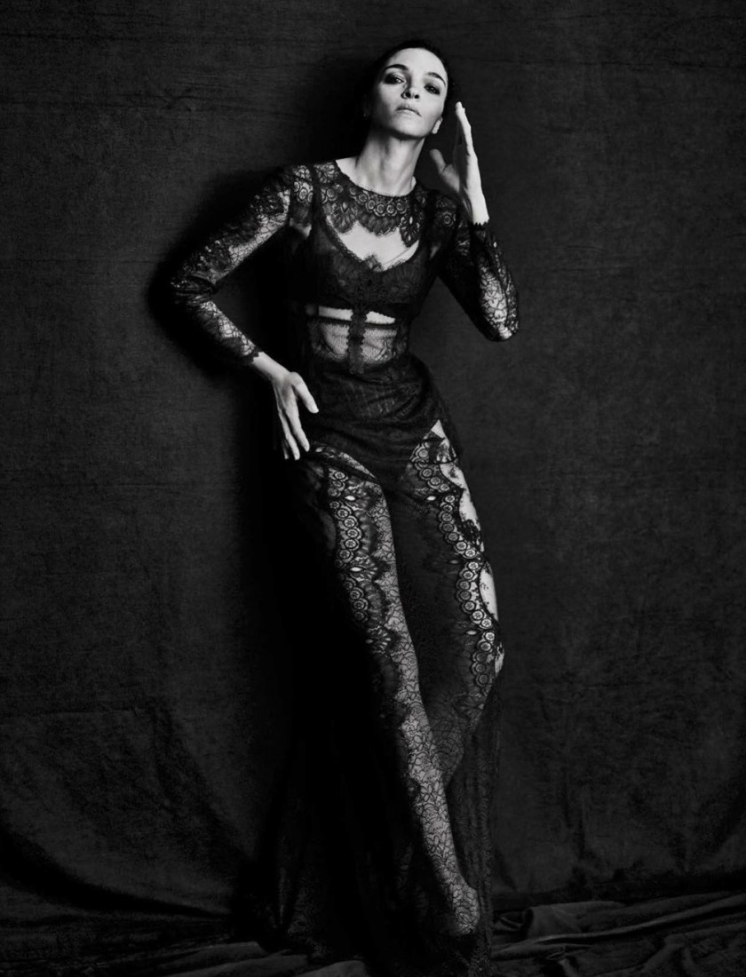 VOGUE ITALIA Mariacarla Boscono by Peter Lindbergh. George Cortina, March 2017, www.imageamplified.com, Image Amplified10