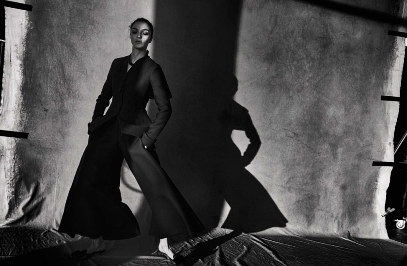 VOGUE ITALIA Mariacarla Boscono by Peter Lindbergh. George Cortina, March 2017, www.imageamplified.com, Image Amplified8