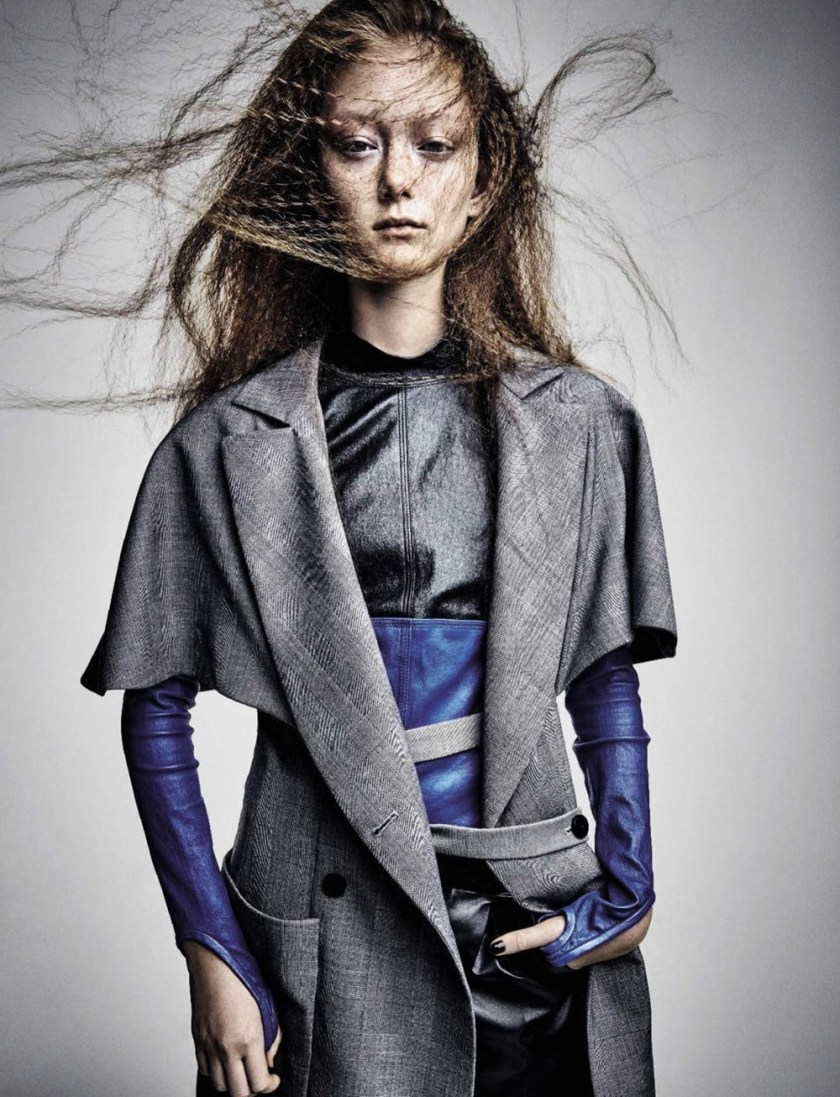 VOGUE ITALIA Sara Grace by Patrick Demarchelier. Paul Cavaco, March 2017, www.imageamplified.com, Image Amplified8
