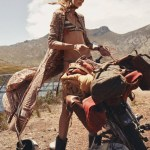 VOGUE PARIS: Edie Campbell by Mikael Jansson