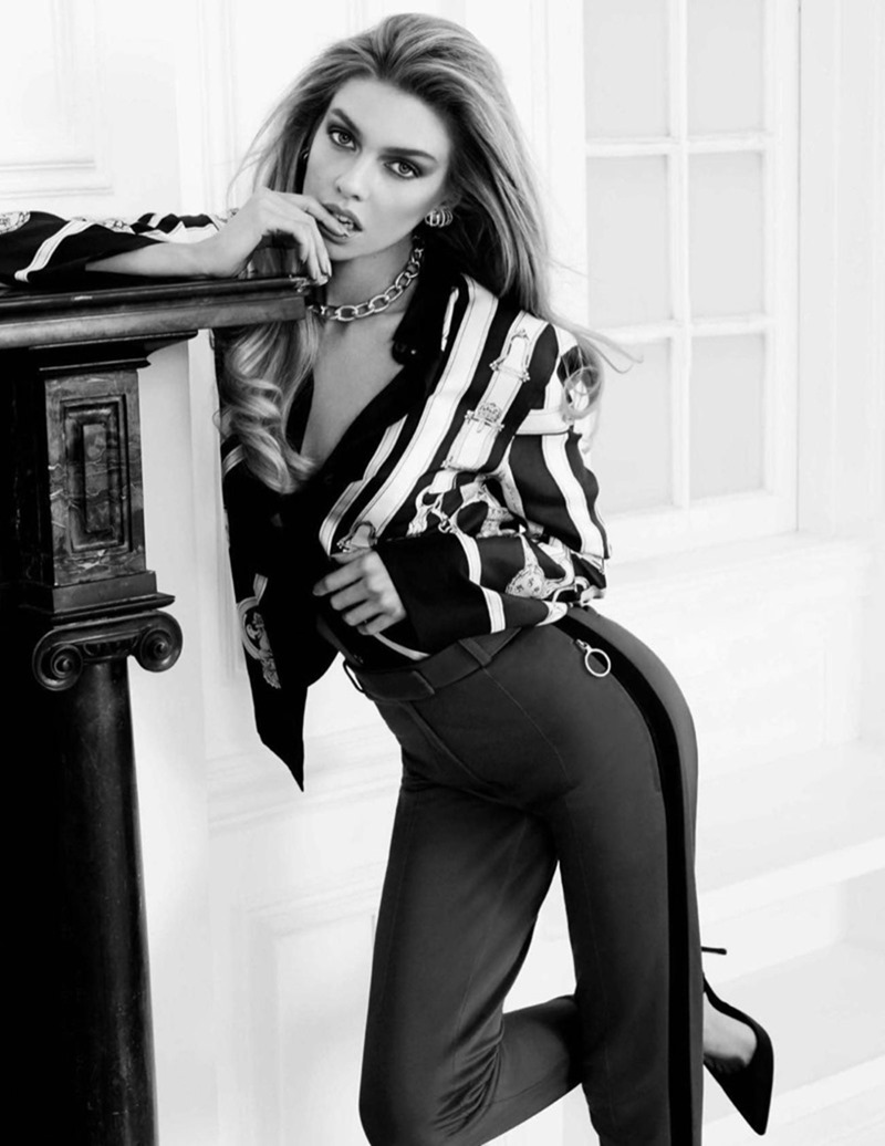 VOGUE SPAIN Stella Maxwell by Miguel Reveriego. Belen Antolin, January 2017, www.imageamplified.com, Image Amplified1