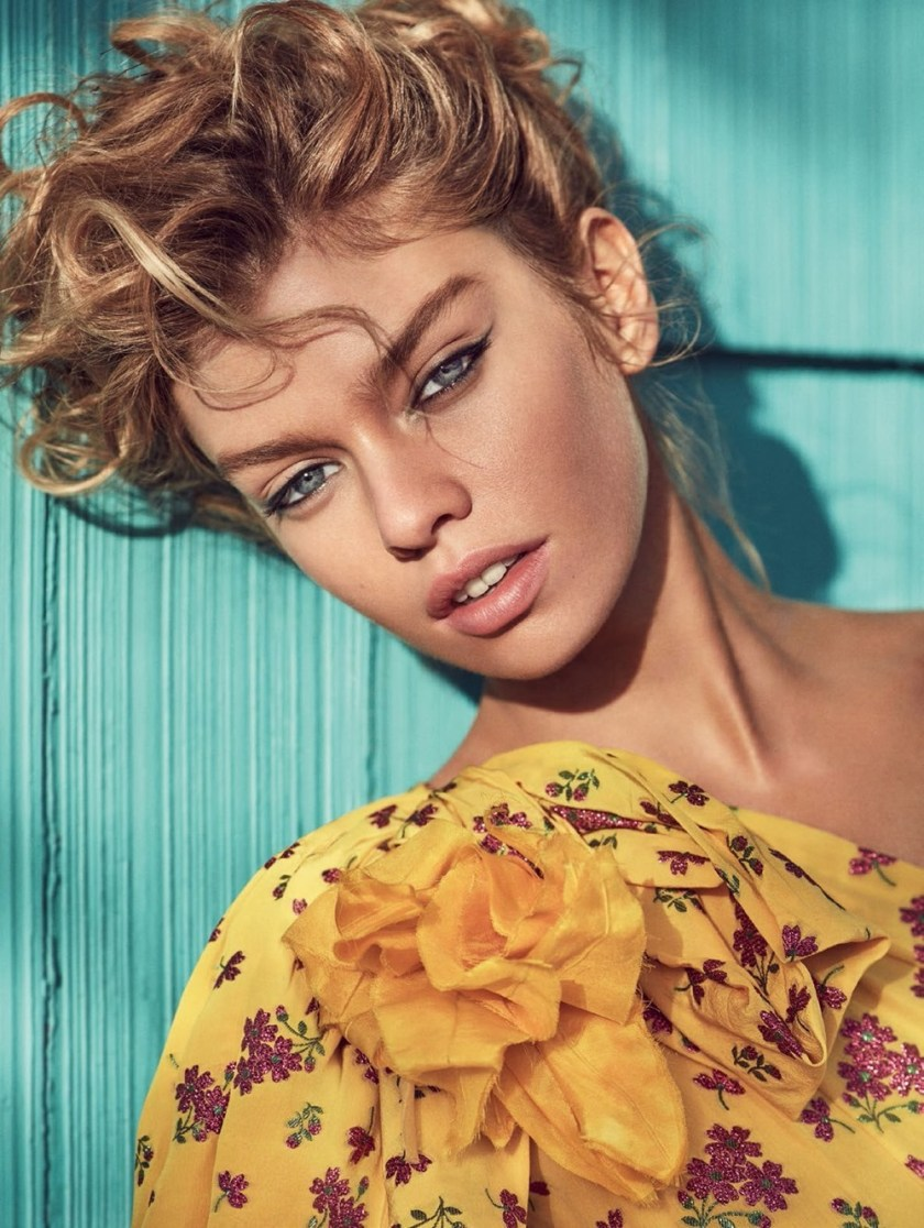 VOGUE TURKEY Stella Maxwell by Miguel Reveriego. Konca Aykan, March 2017, www.imageamplified.com, Image Amplified9
