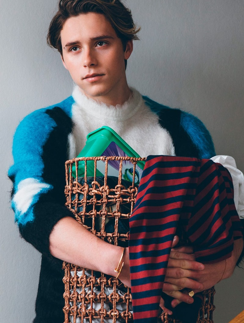 WONDERLAND MAGAZINE Brooklyn Beckham by Christian Oita. Warren Leech, Spring 2017, www.imageamplified.com, Image Amplified1