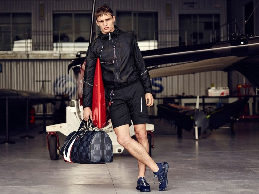 CAMPAIGN Julian Schneyder for Louis Vuitton America's Cup Collection 2017 by Bruno Staub. www.imageamplified.com, Image Amplified1