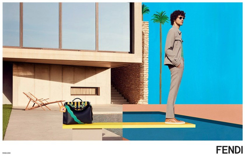 CAMPAIGN Miles McMillan for Fendi Spring 2017 by Mel Bles. Julian Ganio, www.imageamplified.com, Image Amplified3