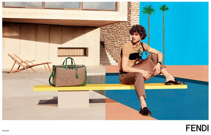 CAMPAIGN Miles McMillan for Fendi Spring 2017 by Mel Bles. Julian Ganio, www.imageamplified.com, Image Amplified4