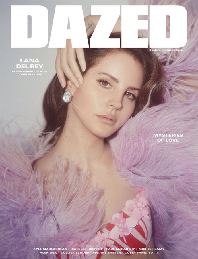 DAZED MAGAZINE Lana Del Rey by Charlotte Wales. Robbie Spencer, Summer 2017, www.imageamplified.com, image Amplified1