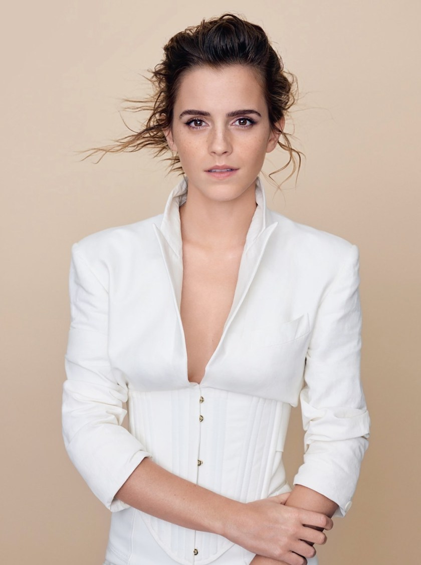 ELLE UK Emma Watson by Kerry Hallihan. Marie Curtis, March 2017, www.imageamplified.com, Image Amplified1