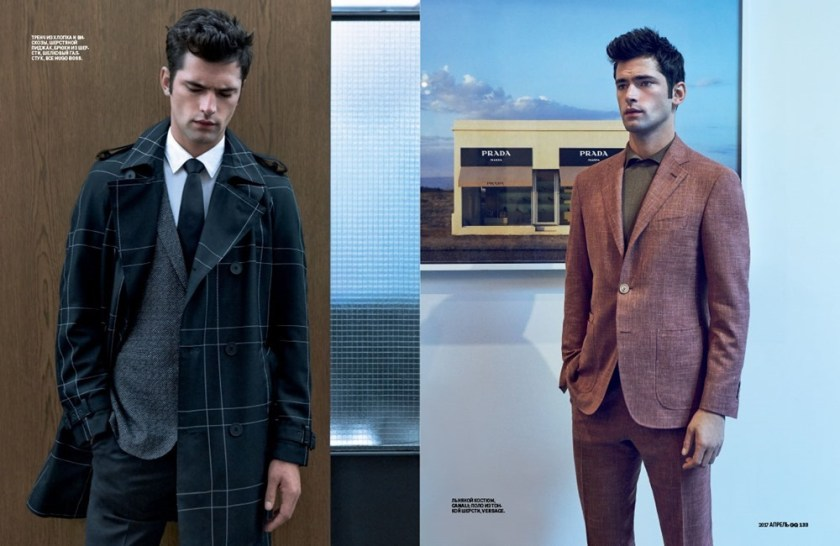 GQ STYLE Sean O'Pry by Walter Chin. Ekaterina Melnikova, April 2017, www.imageamplified.com, Image Amplified3
